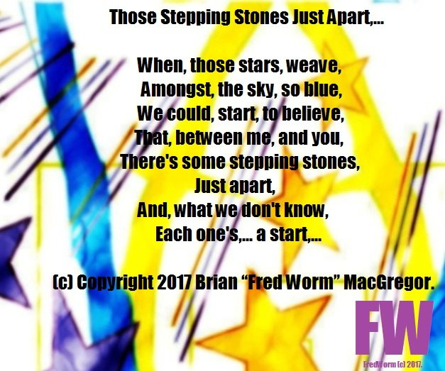 Those Stepping Stones Just Apart BMFWMAC